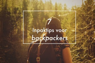 inpaktips voor backpackers