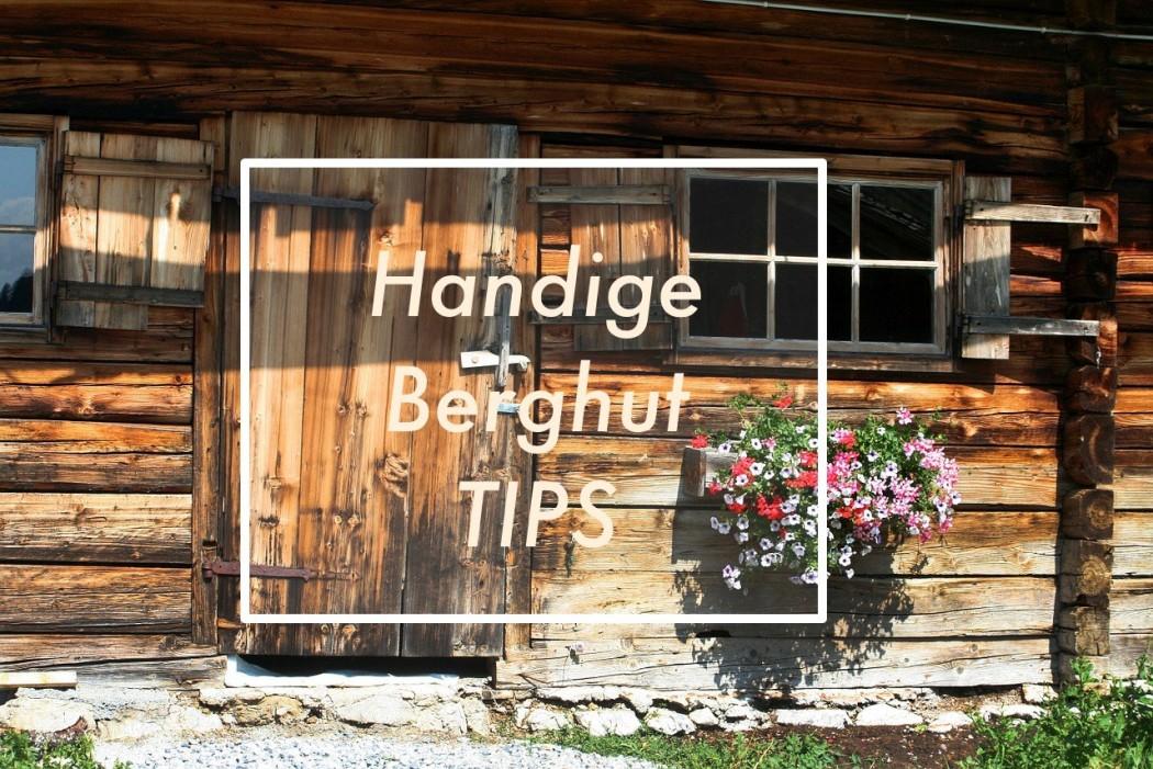 handige tips voor een berghut vakantie