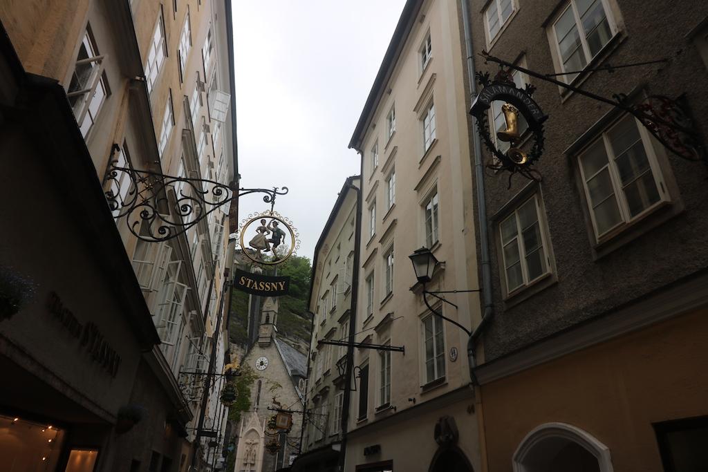 Oude binnenstad Salzburg