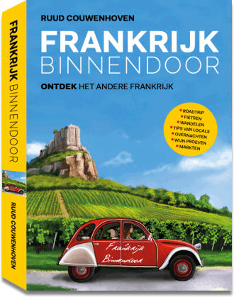 Frankrijk binnendoor reisboek